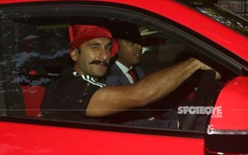 Ranveer Singh Is An Owner Of A Brand New Red Lamborghini Urus; Zooms Around In A 3 Crore Worth Car: Pictures Inside