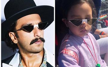 MS Dhoni's Fashionista Daughter Ziva Accuses Ranveer Singh Of Stealing Her Sunglasses; Deets Inside