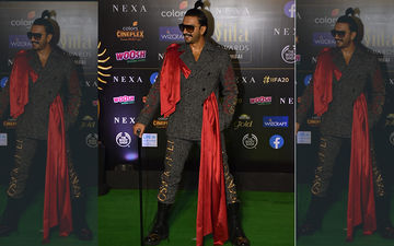 Ranveer Singh At IIFA Awards 2019: Actor Makes An Outlandish Yet Sexy Fashion Statement At The Green Carpet