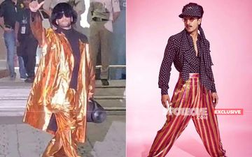 Someone Is Giving Ranveer Singh A Tough Competition For His Airport Looks- EXCLUSIVE