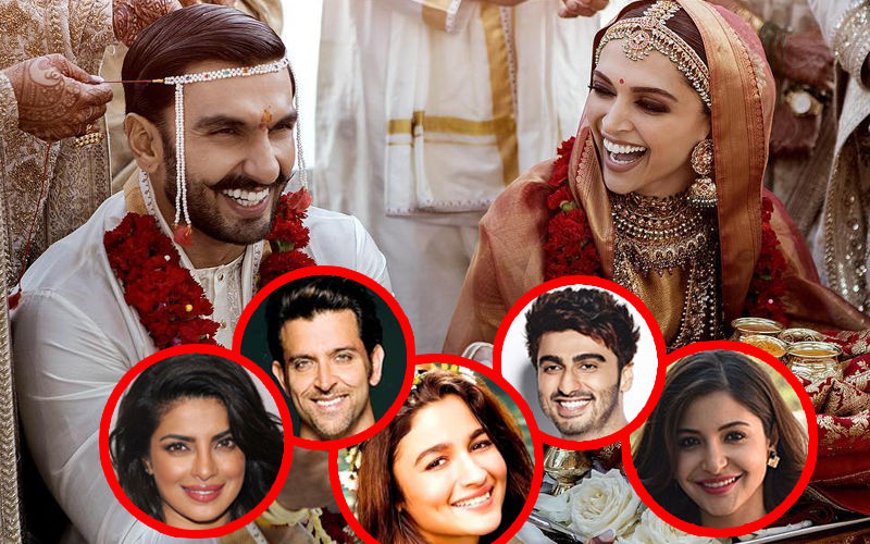 DeepVeer Wedding Pics: Priyanka Chopra, Alia Bhatt, Anushka Sharma,  Hrithik Roshan And Others Find Them Breathtaking
