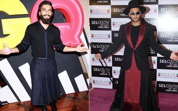 Ranveer Singh's Style Evolution Over The Years: From Slaying It In A Skirt To Rocking A Magician Outfit-PICS