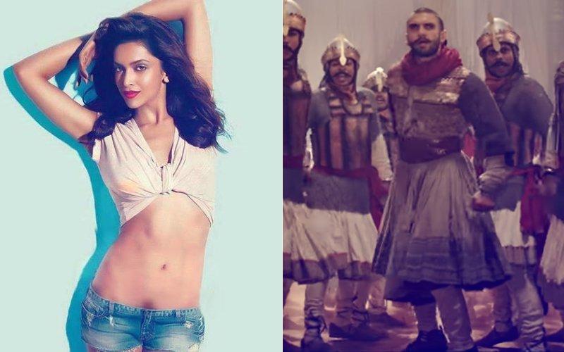 Oops! Deepika Padukone Forgets Boyfriend Ranveer Singh's Malhari Hook Step- Watch The Video
