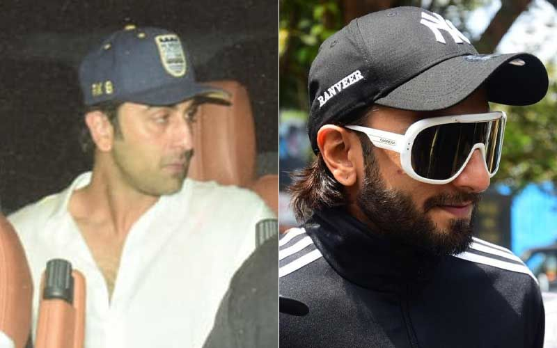 Ranbir Kapoor And Ranveer Singh Follow Latest Fashion Trend; Get Their Names Printed On Their Caps