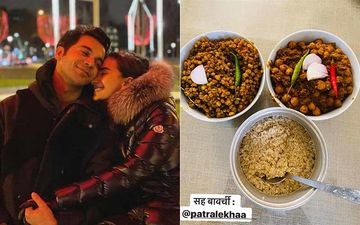Rajkummar Rao Has The Best Hack To Chop Onions; Dishes Out Channa Masala And Moong With Quinoa With Co-Chef Patralekhaa