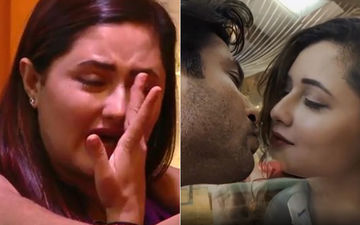 Bigg Boss 13: Rashami Desai Cries Like A Baby After Seeing Her Mirror Liplock Scene With Sidharth Shukla