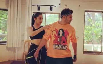 Kiara Advani Shares 'BTS Rehearsal Bloopers' From Dancing Session With Varun Dhawan; Actor Is 'Amazed' With Her Video Editing Skills