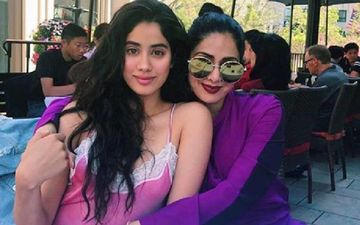 When Janhvi Kapoor Carried Off Her Mother Sridevi's Pink Floral Dupatta With Great Panache - PIC Inside