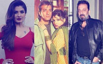 Raveena Tandon Reveals That She Had A Huge Crush On Sanjay Dutt