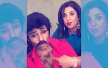 Raveena Tandon's Makeover Turns Her Into Anil Kapoor & It's Hilarious