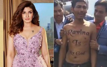 Throwback: When A Fan Stripped In Front Of Raveena Tandon To Express His Love For The Actress- VIDEO