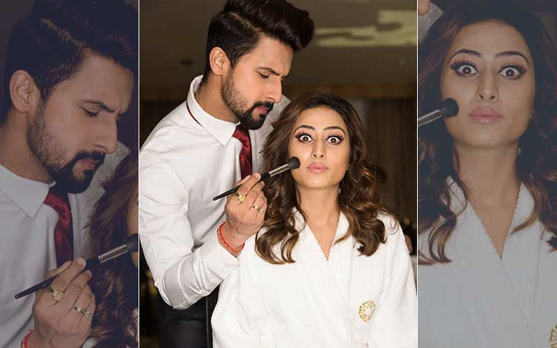 AWW'dorable! Sargun Mehta's Husband Turns Make-up Artist, Gives Major 'Hubby' Goals