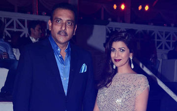Ravi Shastri Bowled Over By Nimrat Kaur; Couple Secretly Dating Since 2 Years?