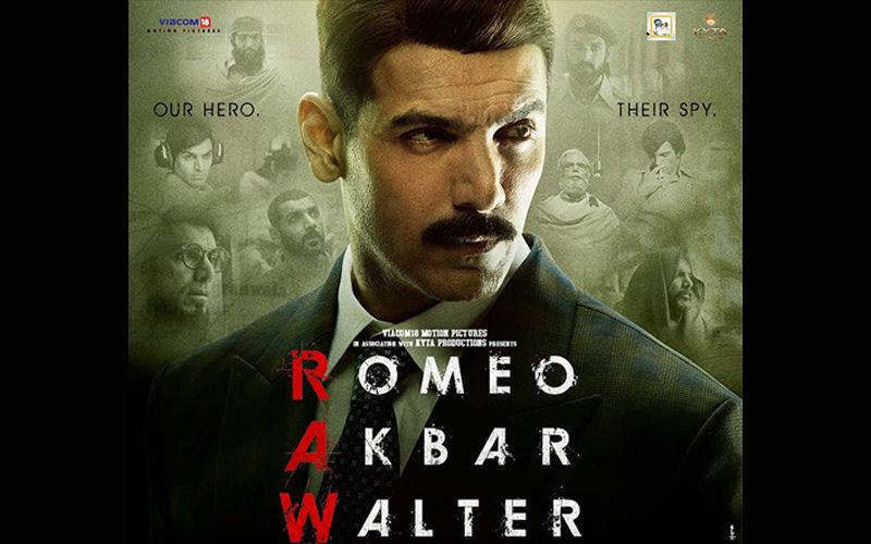 RAW-Romeo Akbar Walter Box-Office, Day 1: John Abraham's Spy Thriller's Start Not So Raw, After All