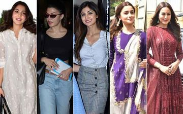 STUNNER OR BUMMER: Anushka Sharma, Jacqueline Fernandez, Shilpa Shetty, Alia Bhatt Or Sonakshi Sinha?