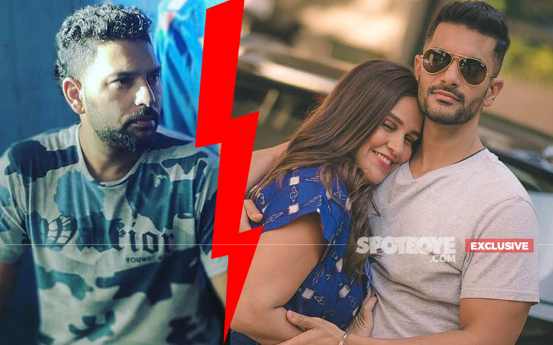 Yuvraj Singh Has Not Forgotten The Past; Did Not Invite Angad Bedi-Neha Dhupia For His Retirement Party