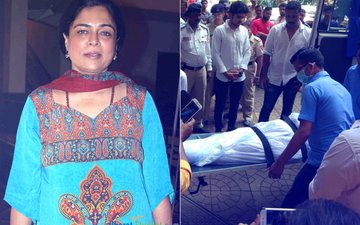 Family Members Bring Reema Lagoo's Body Home, Funeral To Take Place At 2 PM