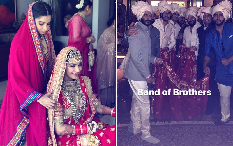 Sonam Kapoor Wedding: Sister Rhea Kapoor Shares Emotional Post; Brother Squad's Candid Pose