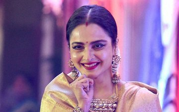 Rekha Birthday Special: 10 UNSEEN Pictures Of The Timeless Beauty