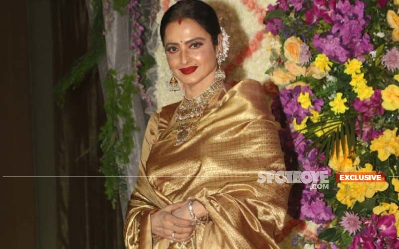 Veteran Actress Rekha Is Ringing Up Industry Folks To Sing A Song For Them- EXCLUSIVE