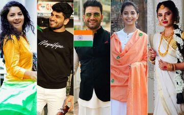 Republic Day 2020: Sonalee Kulkarni, Shiv Thakre, Sharad Kelkar, Sayali Sanjeev, Prajakta Mali, On A Patriotic Ride