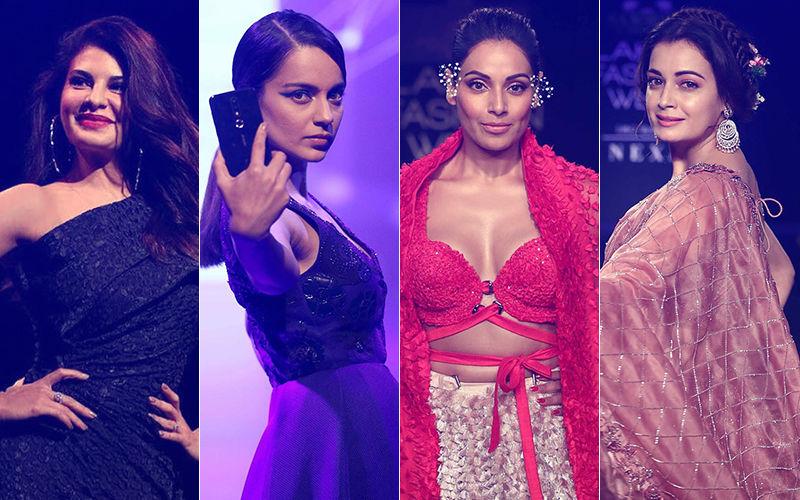 Lakme Fashion Week 2018: Jacqueline Fernandez, Kangana Ranaut, Nushrat Bharucha, Bipasha Basu, Dia Mirza Strut The Ramp