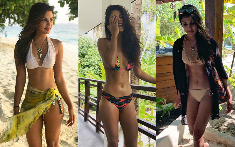 Rhea Chakraborty Sets Temperatures Soaring In Maldives With Her Beachy Pictures