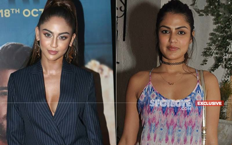 Chehre Actress Krystle D'souza On Co-star Rhea Chakraborty: 'I Was Feeling Bad For Rhea As It Is A Big Film For Her As Well'-EXCLUSIVE