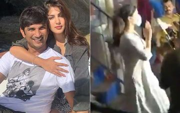 Sushant Singh Rajput Death: Rumoured GF Rhea Chakraborty Leaves Police Station With Folded Hands After 11 Hours Of Interrogation