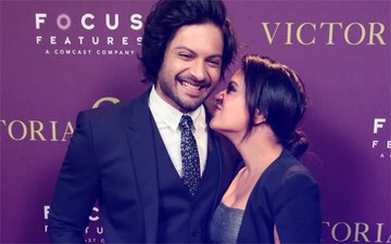 PUBLIC DISPLAY OF AFFECTION: Lovebirds Ali Fazal & Richa Chadha Are Back To Being Teens