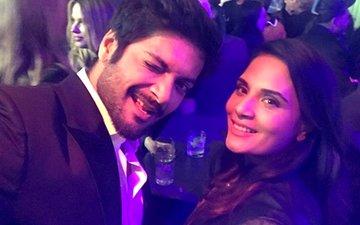 PICS: Lovebirds Ali Fazal & Richa Chadha Attend Pre-Oscars Party Hand-In-Hand