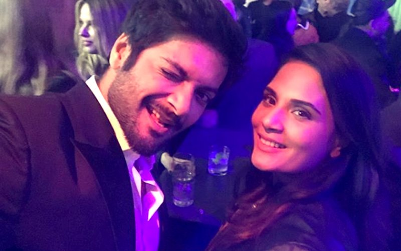 PICS: Lovebirds Ali Fazal & Richa Chadha Attend Pre-Oscars Party Hand-In-Hand