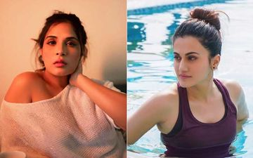 After NCW Ignores To Reply Richa Chadha, Taapsee Pannu Asks Actress To Go To Delhi To Make Herself 'Audible' And 'Visible'