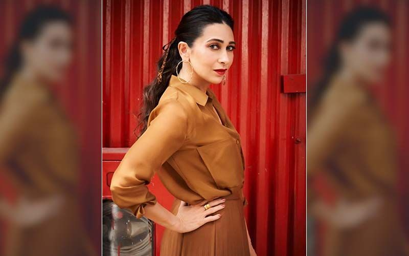 Karisma Kapoor's Monotone Combo For Mentalhood Promotions Costs Rs 9k