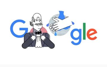 Amid Coronavirus Outbreak, Google Doodle Remembers First Person To Discover Handwashing Benefits
