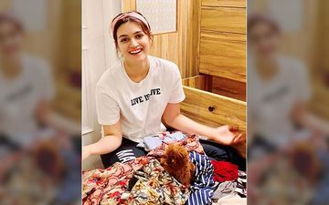 Bollywood Starlet Kriti Sanon Gives Us An Instagram Tour Of Her Mumbai Home; PICS Inside