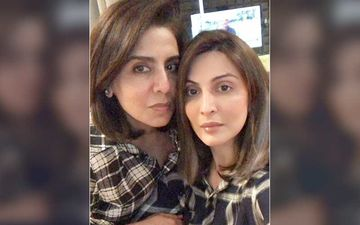 Post Rishi Kapoor's Demise Daughter Riddhima Kapoor Shares How Her Mom Neetu Kapoor Is Doing