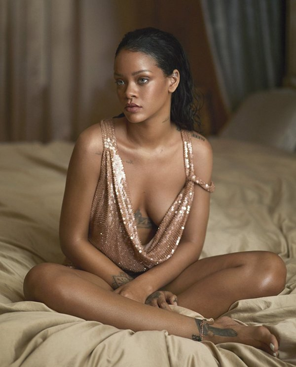 Photo From Rihannas Photo Shoot