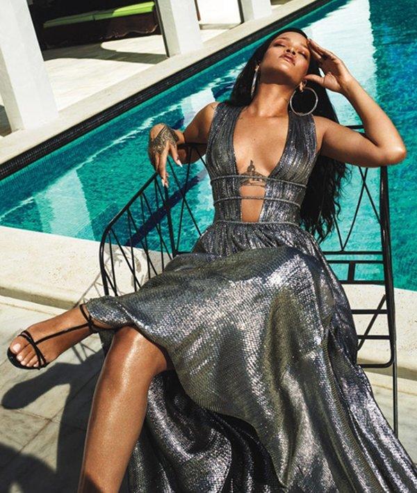 Photo From Rihannas Photo Shoot