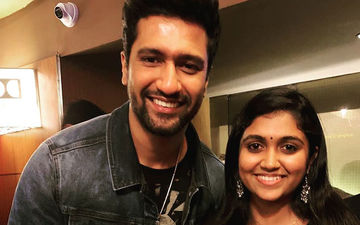 Rinku Rajguru With Vicky Kaushal At The Screening Of His Horror Film Bhoot