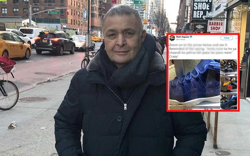 Rishi Kapoor Goes Shoe-Shopping In New York, But Is Dumbstruck On Seeing Its Price