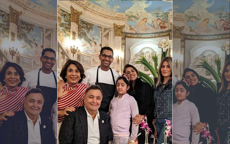 Rishi Kapoor's Dinner Date In NYC With Daughter Riddhima, Granddaughter Samara And Friends