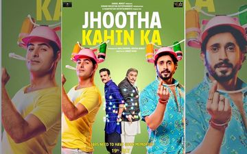 Jhootha Kahin Ka Poster: Rishi Kapoor Back With A Bang For A Comedy Film With Omkar Kapoor And Jimmy Shergill