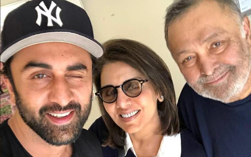 Neetu Kapoor Shares A Hilarious Video Of Young Rishi Kapoor And Ranbir Kapoor; Calls It Adorable