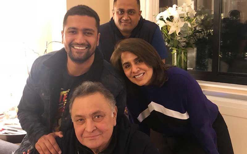 Amidst Birthday Celebrations In NYC, Vicky Kaushal Drops In To Meet Rishi-Neetu Kapoor