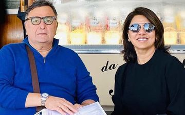 Neetu Kapoor Posts A Smiling Picture Of Rishi Kapoor Holding A Drink And 'End Of Our Story' Caption Will Break Your Heart