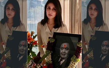 Rishi Kapoor Death: Daughter Riddhima Kapoor Looks Glum Standing Next To Late Actor's Picture At Home; 'Love You Always Papa'