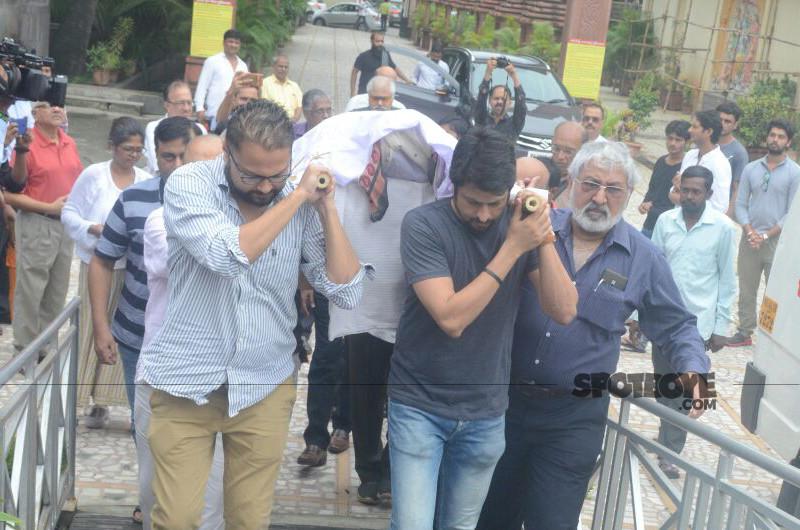 rita bhaduri body taken for cremation
