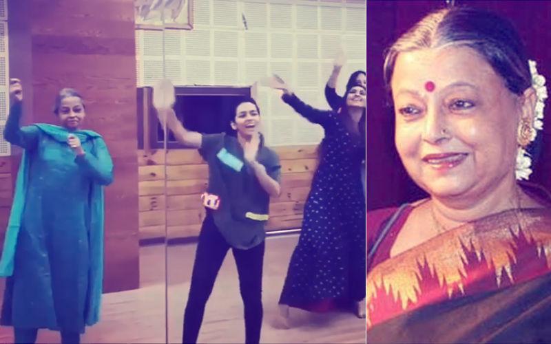 Video: When Krystle D'Souza Made Rita Bhaduri Dance