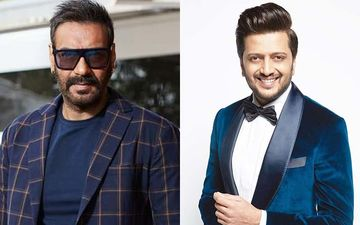 Riteish Deshmukh Gives A New Meaning To Ajay Devgn's Song As He Washes Dishes While Wishing Him Happy Birthday-VIDEO